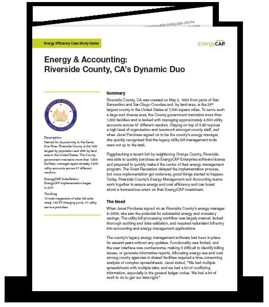 Riverside County Case Study